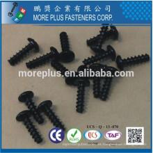 Hecho en Taiwán Phil Drive # 5 Pan Negro Cabeza Negro Chapado CR3 + Panel de partículas de tornillo