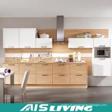 Meubles d'armoires de cuisine de couleur de style européen de nature (AIS-K295)