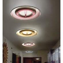 Moderne Acryl Carbon Stahl Aluminium Wohnzimmer Deckenleuchte (732C)