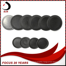 Round Graphite Wafer/Plate for Surge Arrester