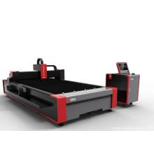 Máquina de corte a laser de fibra para placa de liga de alumínio