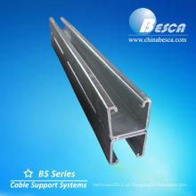 De volta ao aço de canal traseiro de C - UL, cUL, NEMA, IEC, CE, ISO