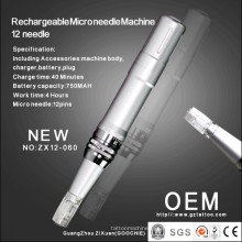 Máquina de mesoterapia con microagujas recargable de alta calidad (ZX12-60)