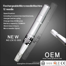 Rechargeable Microneedle Machine 12 Prong (ZX12-060)