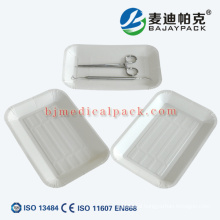 OEM accepted strilization disposable medical paper tray