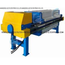 Membran-Plattenfilterpresse, Membran-Quetschbetrieb Filterpresse