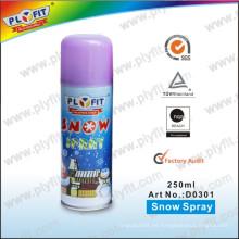 Spray de nieve para fiestas no inflamables