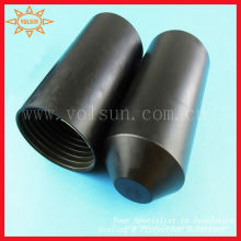 Black heat resistant cable cover