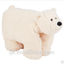 Personalizadas peluches costumbre animales de peluche oso polar manta