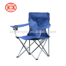 Lightweight folding office chair with fabric seater