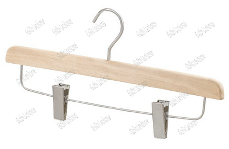 Natural Color Adjustable Pants Hanger