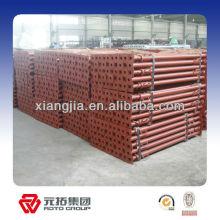 Puntal de apuntalamiento para construcción,, EN74, ajuste de puntal de acero, puntal ajustable EN1064