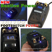 Digital regulated power supply great quality brand new version tattoo power supply foot switch combo