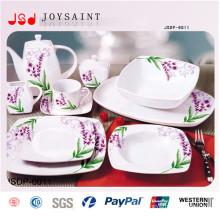 Ensemble de dîner carré à la vente chaude (JSD116-S022)