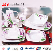 Heißes verkaufendes quadratisches Abendessen-Set (JSD116-S015)