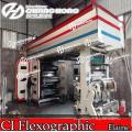 6 Colorsroll pour rouler la machine d'impression tissée par Flexo