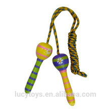 promotion wooden classic toy wholesale skipping rope handles