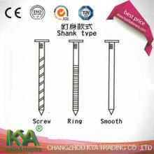 Clous 15 de palette de fil de degré pour la construction, décoration, empaquetant