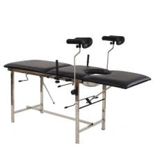 Medical manual adjustable portable examination table gynecological examination chair