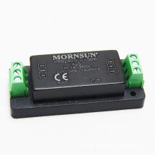 MORNSUN with heat sink and terminal converter 24vdc to 5vdc dc dc converter 10a UL CE ROHS VRB2405LD-50WA2S