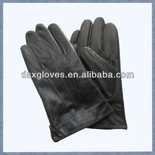 new style Pigskin leather men touch screen gloves