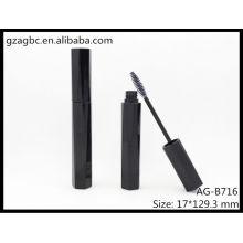 Glamorosa y vacío plástico en forma de especial Mascara tubo AG-B716, empaquetado cosmético de AGPM, colores/insignia de encargo