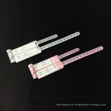 Boa qualidade descartáveis médicos uso id banda com grande preço
