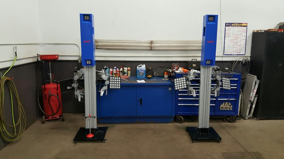 Wheel Alignment Caster