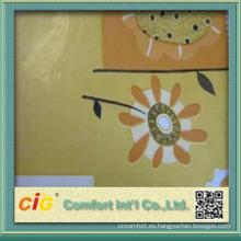 surtidor de China Sofá y tela curvados tela popular del último diseño