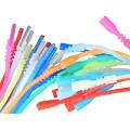 Colliers de cordon de tube en caoutchouc de silicone avec verrouillage