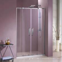 Double porte de douche en verre HD440
