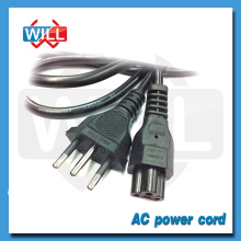 High quality 3 prong cheap 125v power cord brazil