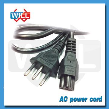 VDE UL approval 250V 3 pin brazil 16a 10a power cord