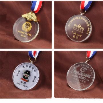 Esculpido Crystal Clear Trophy Novelty Crystal Award Trophy