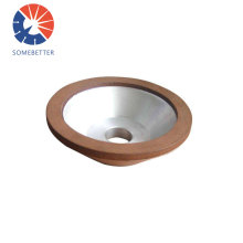 4 inch 100mm bowl shape resin bonded 400 grit grinding 12A2 diamond wheels for carbide