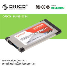 ORICO PNU3-EC34 Carte USB USB 2.0 USB Express, Carte Express Express Notebook Adaptateur USB 3.0