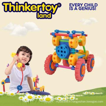 Pattern Blocks DIY Educational Nouveauté Toys for Kindergarten