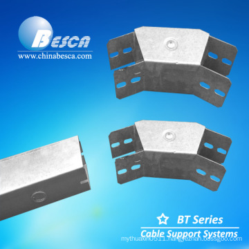 Galvanized Twin Compartment Cable Trunking In Hot Sale