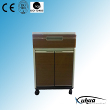 2 Doors High Quality ABS Hospital Medical Bedside Locker (K-11)