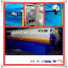 QC12Y-6x2500 com e200 hidráulico cnc cisalhamento máquina fábrica