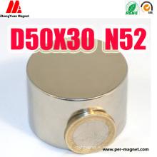 Большой неодимовый магнит с постоянным цилиндром для промышленности NdFeB