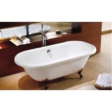 Europäische klassische Clawfoot freistehende Badewanne