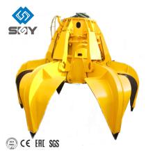Elektrische hydraulische Orangenschalengreifer