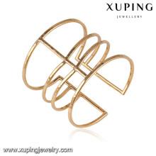 51640 Xuping 18k plaqué or couleur bijoux femmes bracelets pour les cadeaux de Noël