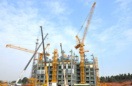 China Manufacturer New Tc6010 Tower Crane
