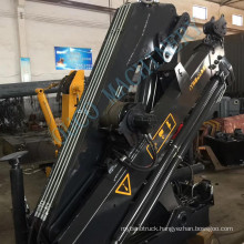 Promotion Knuckle Boom Truck Mounted Mobile Crane 8tons sale