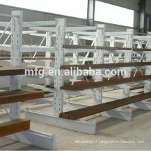 Light Duty Metallic Supermarket Storage/Display Racks with Wooden Layers