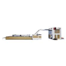 Adsorption semi-auto flute laminating machine