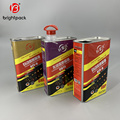 Kundenspezifische Motoröl- / Schmiermittelverpackung Blechdose