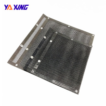 Tool for Outdoor Picnic High Temperature Resistance BBQ Grill Mesh Bag